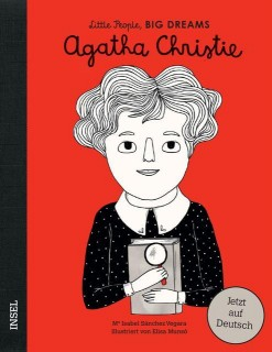 Isabel Sánchez Vegara, Elisa Munsó: Agatha Christie. Little People, Big Dreams