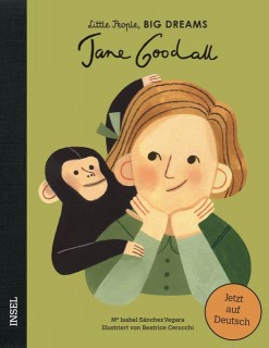 Isabel Sánchez Vegara, Beatrice Cerocchi: Jane Goodall. Little People, Big Dreams