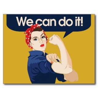 Postkarte We can do it!